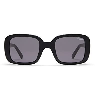 fd5cef42b2 Quay Australia 20 s Women s Sunglasses Classic Chic Square Sunnies - Black  Smoke