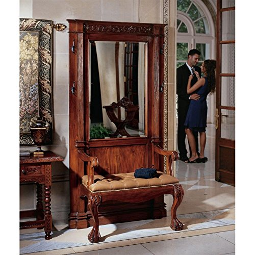 Design Toscano AF7248 The Regent's Park Mahogany Hall Stand, 44