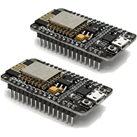 Xiuxin 2pcs/lot ESP8266 NodeMcu Lua WIFI Internet Development Board CP2102 Wireless Module works with Arduino IDE…