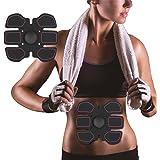 Ab Stimulator Ultimate Abs Stimulator Ab Belt- Muscle Toner Belt Abs Toner Wireless Fit for Men & Women Home Office Workout Fitness Ab Trainer