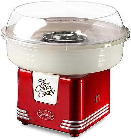 Cotton Candy Machine eléctrica, Retro algodón Seda del Caramelo de la máquina, azúcar Maker for Partido de los Cabritos del Regalo DIY, Rojo YCLIN (Color : Red): Amazon.es