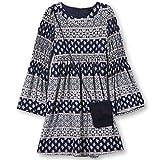 Speechless Big Girls' 7-16 Tween Knit Dress Purse, Ivory Navy, 7
