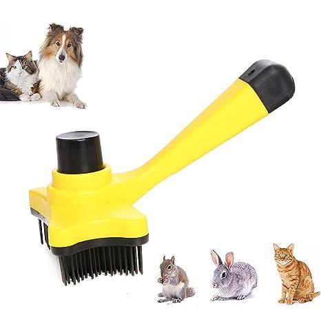 iPetoo Cepillo Peine para Mascotas - Perros Gato Pet Pelo Largo Dematting/Grooming Comb -
