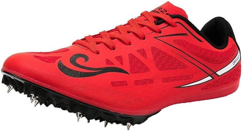 FJJLOVE Zapatillas de Atletismo Unisex Zapatillas de Cricket ...