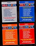 1990 NBA Hoops Collect-A-Books Basketball Complete Box Set 1 - 4 CollectABook