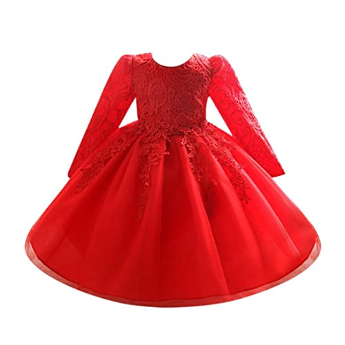 Girls Dresses, Wanshop® Flower Baby Girl Long Sleeve Princess Bridesmaid Pageant Gown Birthday Party