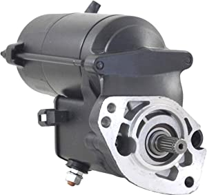 Rareelectrical HIGH TORQUE STARTER COMPATIBLE WITH 96-06 HARLEY DAVIDSON FLHT FLHT1 FLHTC ELECTRA GLIDE CLASSIC
