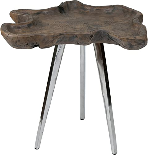 East at Main Peta End Table - the best rustic end table for the money