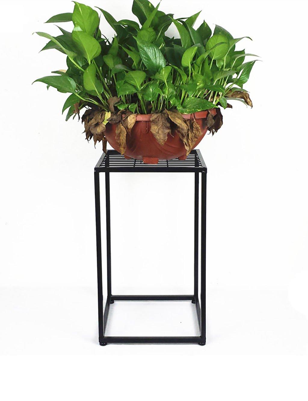 LB huajia ZHANWEI Moderne minimalistische Blume Rack Eisen Multilayer Blume Rack Balkon Boden Pflanzer Regal Einfache Moderne Wohnzimmer Indoor Flower Rack (2 Styles verfügbar) (größe : B)