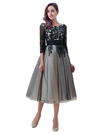 Sarahbridal Scoop Evening Dresses for Women UK Long Prom Dress Tulle Elegant Wedding Party Ball Gown