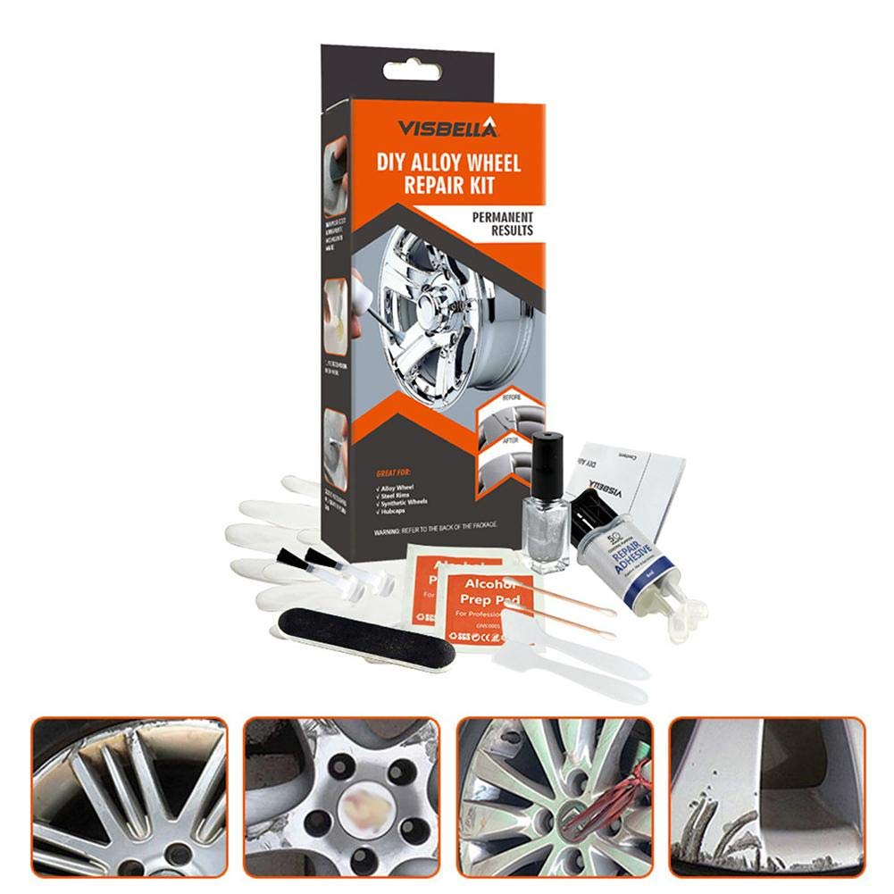 Scratch Protection niyin204 Alloy Wheel Repair Kit Paint General Purpose Paint Repair Tool For Damaged Car Surfaces