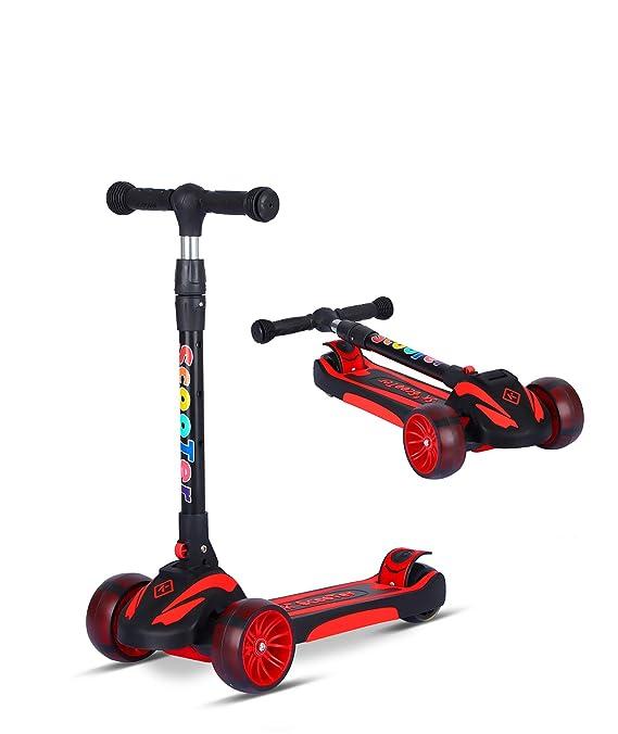 Amazon.com: SDSPEED patinete para niños ruedas extra anchas ...