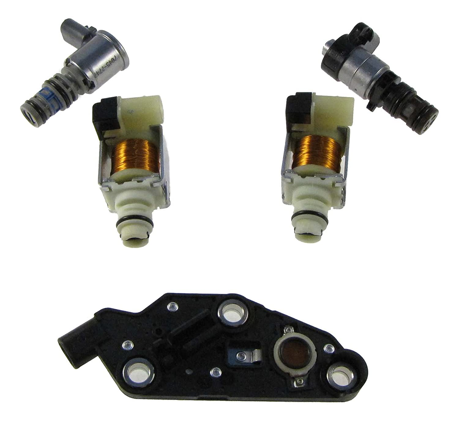1 Pressure Switch Style GM 4T65E 5 Piece Solenoid Set
