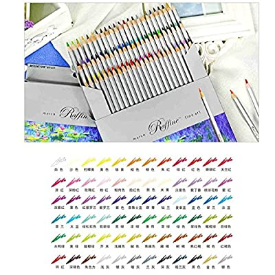 Fine Art 72 Color Marco Drawing Shading Oil Base Non-toxic Pencils set for Artist Sketch