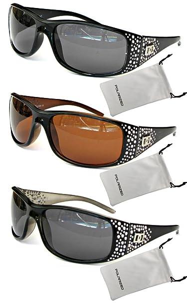 Amazon.com: VOX mujer anteojos de sol polarizadas Diseñador ...