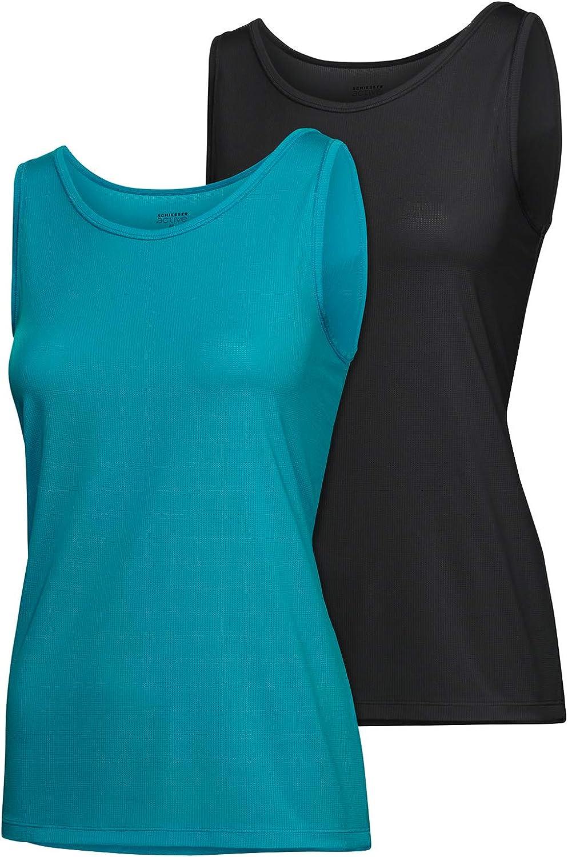Schiesser Camiseta térmica (Pack de 2) para Mujer: Amazon.es: Ropa y accesorios
