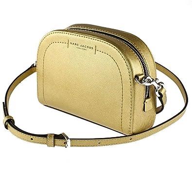 eaff878dbf Amazon.com: Marc Jacobs Playback Metallic Cross Body Bag: Shoes