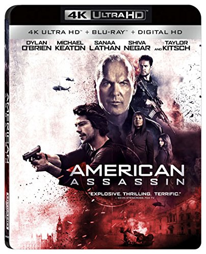 4K Blu-ray : American Assassin (With Blu-Ray, 4K Mastering, Dolby, AC-3, )