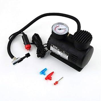 Amazon.es: CLKJCAR 300PSI Compresor de inflado de neumáticos Portátil Bomba de presión de neumático Compresor de aire Bomba de neumático de automóvil con ...