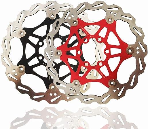 Freno de bicicleta de disco flotante Rotor de freno de disco flotante 6 pernos Aleación de