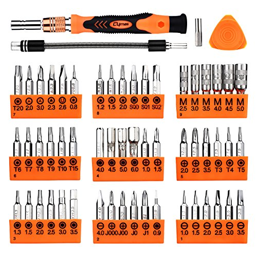 Cymas Magnetic Precision Screwdriver Set, 58 in 1 with 54 Bits Driver Kit, Electronics Repair and Disassemble Tool Kit for Laptop, iPhone and other Smart Phone, Tablet, Game Console, Clock, etc. 아마존 - Cymas Magnetic Precision Screwdriver Set, 58 in 1 with 54 Bits Driver Kit, Electronics Repair and Disassemble Tool Kit for Laptop, iPhone and other Smart Phone, Tablet, Game Console, Clock, etc. 비드바이 - 해외 전문 경매대행 선두주자아마존 - Cymas Magnetic Precision Screwdriver Set, 58 in 1 with 54 Bits Driver Kit, Electronics Repair and Disassemble Tool Kit for Laptop, iPhone and other Smart Phone, Tablet, Game Console, Clock, etc. - 웹