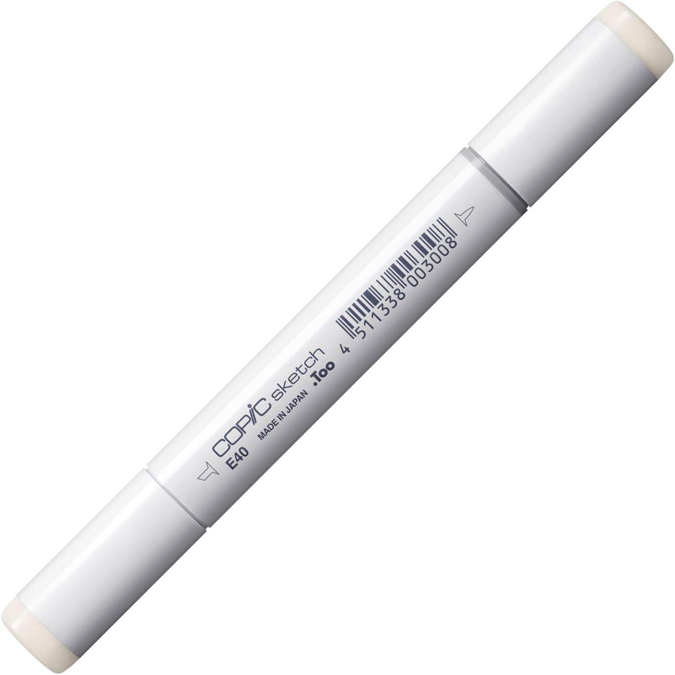 Copic Marker E40-Sketch, Brick White