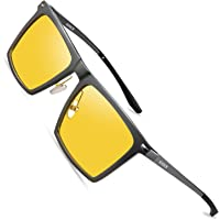 SOXICK Night Vision Glasses for Driving - Fashion Polarized HD Anti-Glare Safe Glasses For Men Women Driver