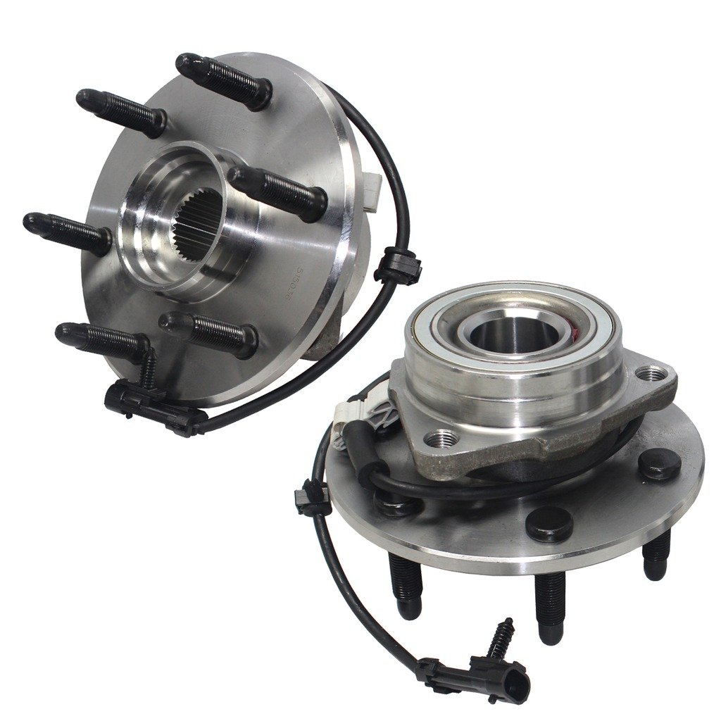 Detroit Axle- Both Front Driver & Passenger Side Wheel Hub review