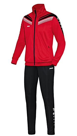 buy online hot products on feet images of Jako Trainingsanzug Pro Herren rot schwarz weiss NEU: Amazon ...