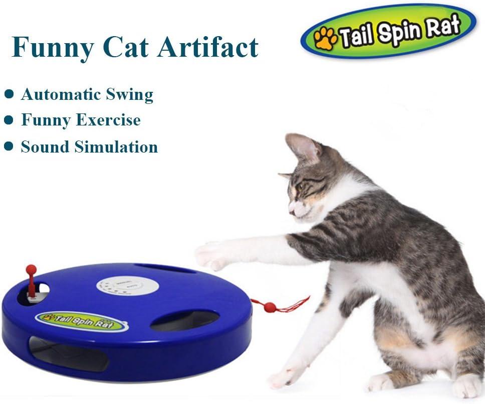 Flightbird 2018 - Juguete para Gato de Grado Superior, 5 Modos, Juguete para Ejercicio de Gato: Amazon.es: Productos para mascotas