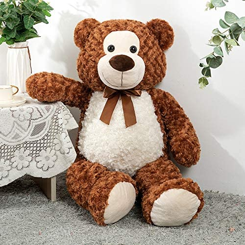 Tezituor Giant Teddy BearBig Stuffed AnimalsGifts for Valentine Christmas Birthday,36