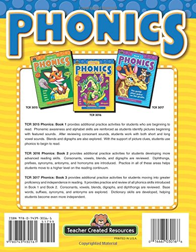 Amazon.com: Phonics Book 2 (0014467030166): Kathy Dickerson Crane ...