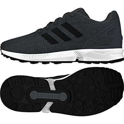 f45179286d Image Unavailable. Image not available for. Color: adidas Originals Boy's  Zx Flux Trainers US4.5 Grey