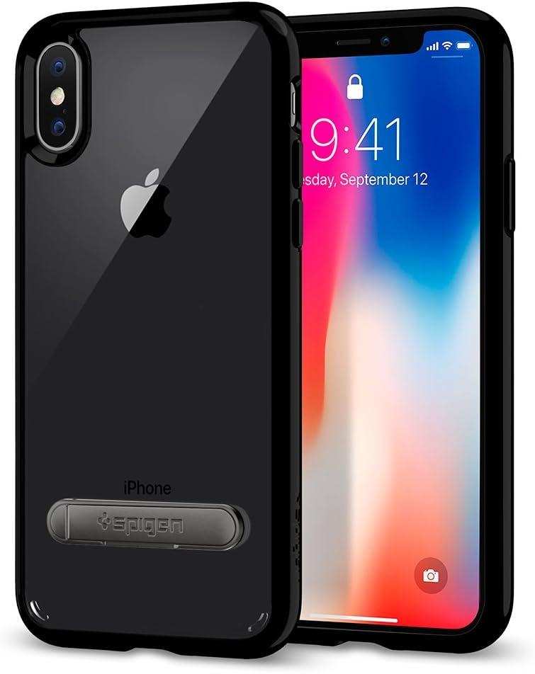 Spigen Ultra Hybrid S Designed for Apple iPhone Xs Case (2018) / Designed for Apple iPhone X Case (2017) - Jet Black