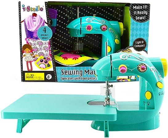 shengshiyujia La máquina de Coser de Juguete para niños en Miniatura de la máquina de Coser Creativa, Hace para la Navidad Ideal, Regalo de cumpleaños: Amazon.es: Hogar