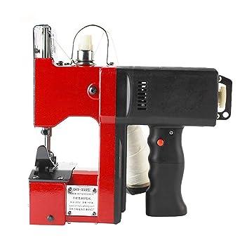 MXBAOHENG Portátil Máquina de Coser Closer Stitcher Eléctrico Costuras Bolsa de Embalaje Sellado Para Tejido de