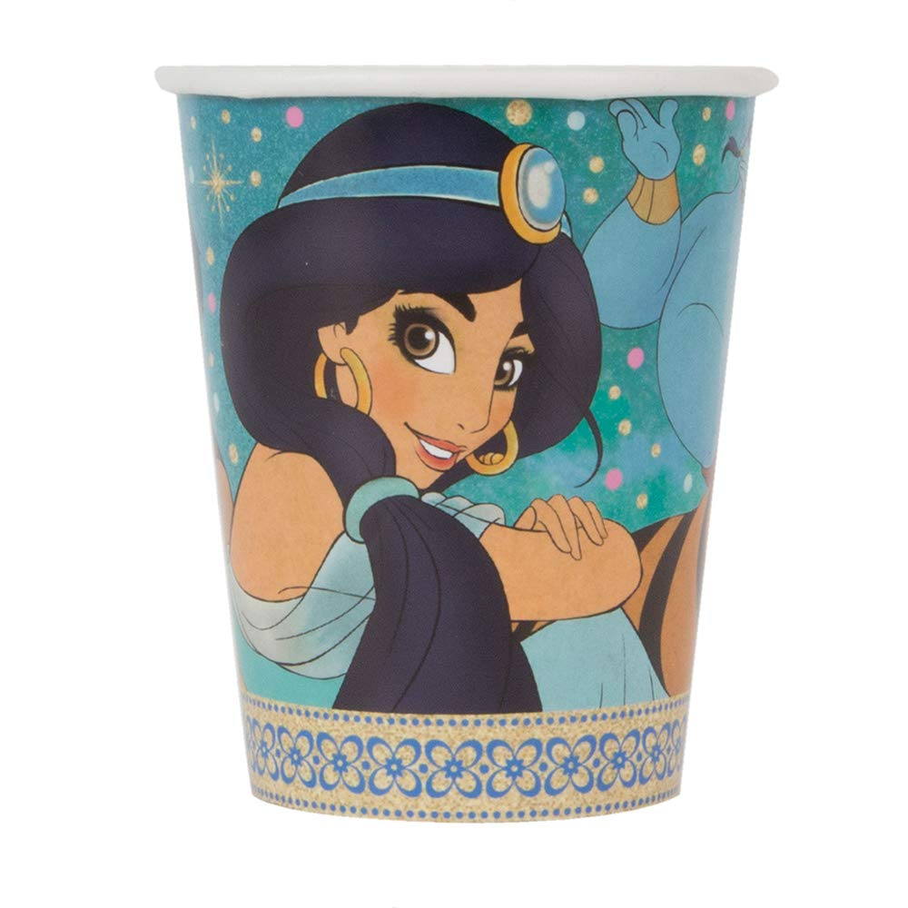 Aladdin Disney Birthday Party Cups - Pack of 8