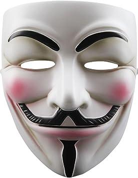 TOOGOO Mascara de Cosplay de Resina V para Vendetta Anonymous Guy ...