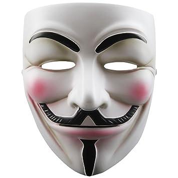 TOOGOO(R) Mascara de cosplay de resina V para Vendetta Anonymous Guy Fawkes Juguetes