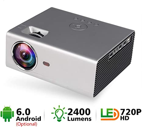HM2 Mini proyector LED, proyector de Cine en casa portátil con TV ...
