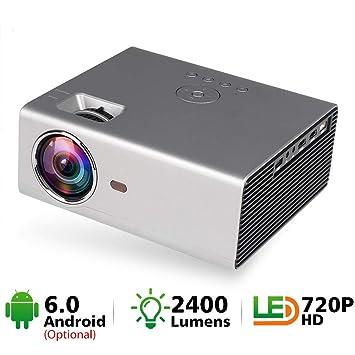 HM2 Mini proyector LED, proyector de Cine en casa portátil ...