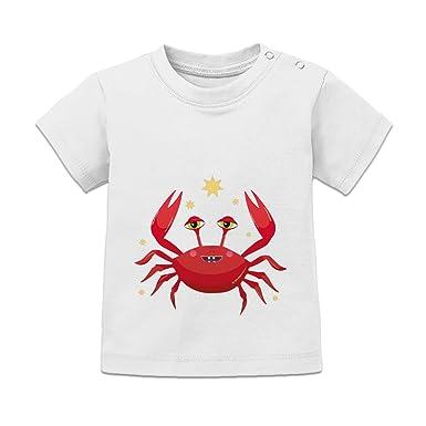Shirtcity Sternzeichen Krebs Baby T-Shirt by: Amazon.de ...
