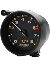 "Auto Meter 2309 Auto Gage Black 3-3/4"" 8000 RPM External Shift-Lite Tachometer"