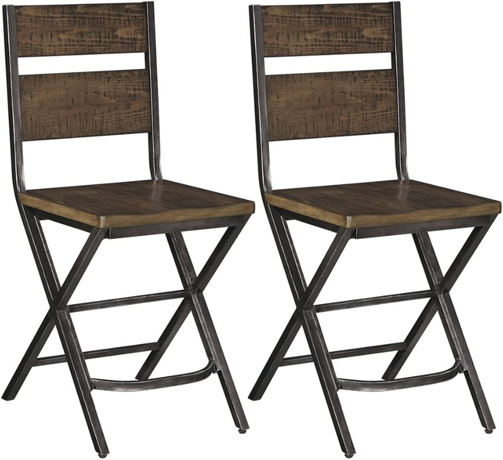 Shop Signature Design By Ashley - Kavara Barstool - Set of 2 from Amazon on Openhaus