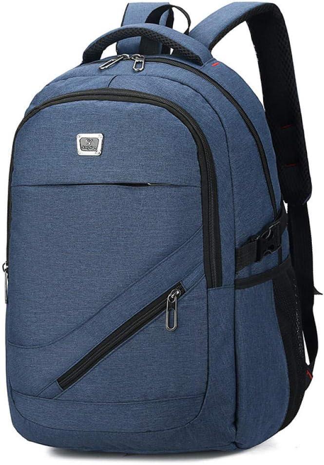 Desconocido Mochila para Laptop Mochila para Hombres Travel Leisure Business Computer Mochila De Viaje-Azul