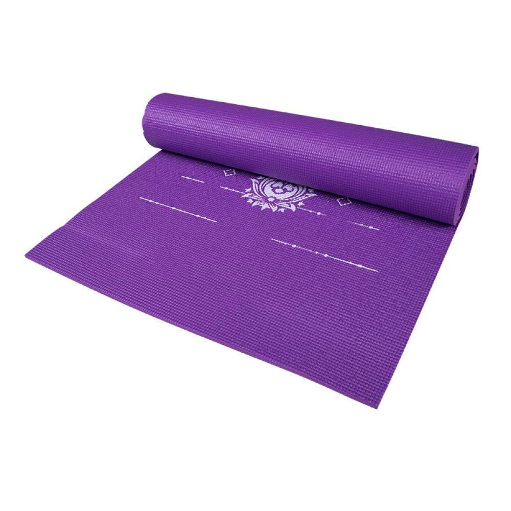 KEYINUO Esterilla de Yoga PVC de sección Delgada ...