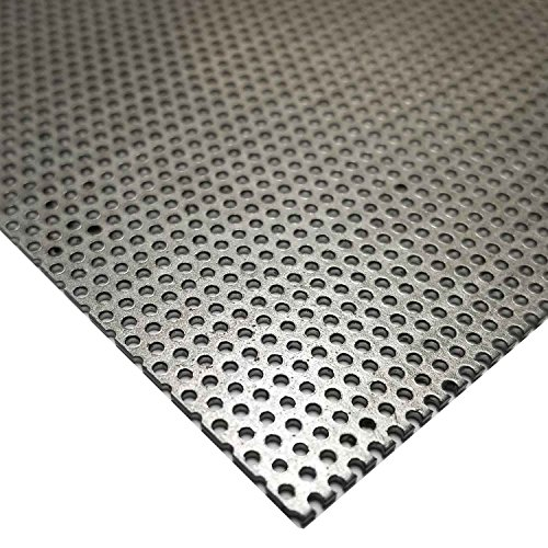 Online Metal Supply Steel Perforated Sheet, Thickness: 0.036 (20 ga.), Width: 10