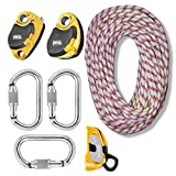 zRig Pro 4 Piggyback Rope Haul System 3 to 1 / 4 to 1 Mechanical Advantage with Progress Capture