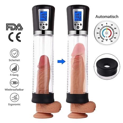 MEROURII Penispumpe Auto Puls Masturbator Elektrisches Sexspielzeug für Männer Penis Erektion Vergrößerung Penis Stimulation