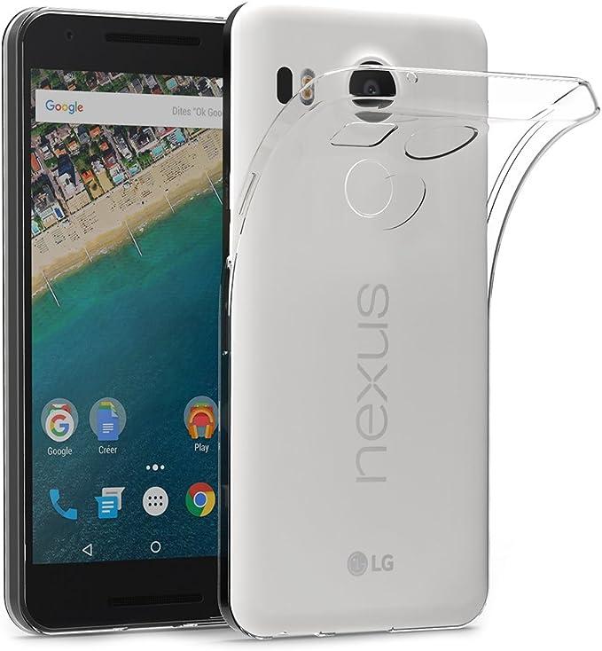 AICEK Funda LG Nexus 5X, LG Nexus 5X Funda Transparente Gel ...